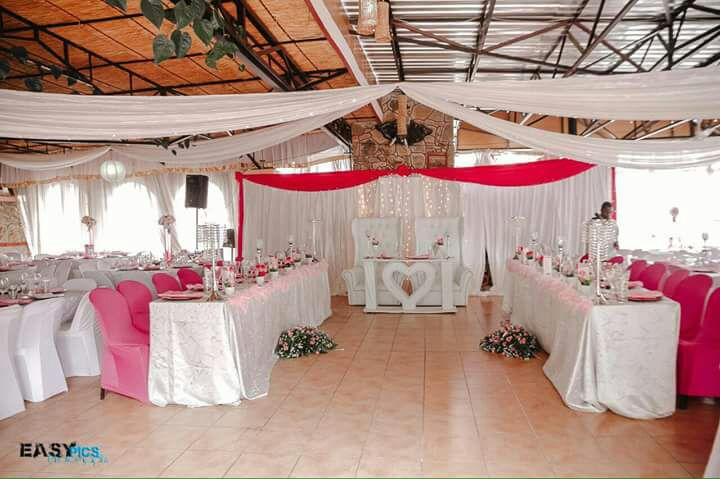 Wedding reception in the Lalani Hotel Gazebo