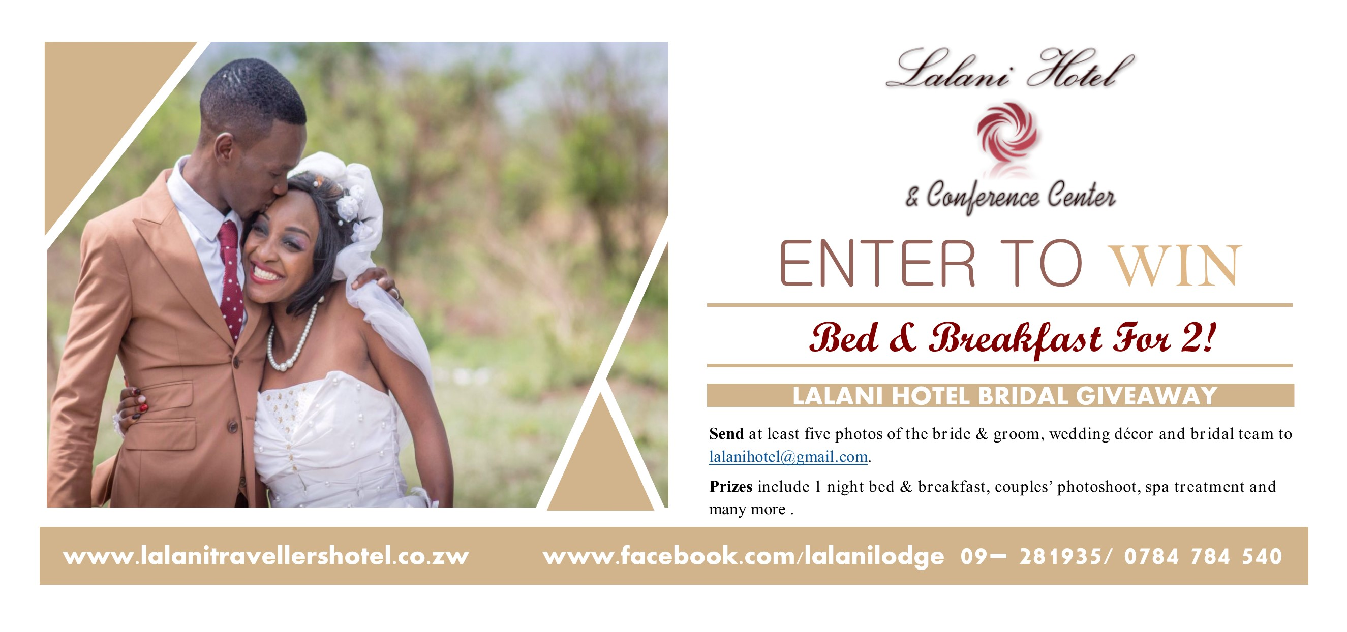 Lalani Hotel and Conference Centre Wedding Competition