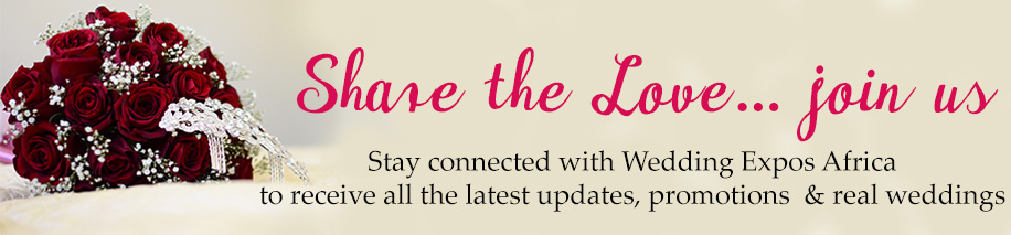 Sign Up for Wedding Expos Africa Newsletter