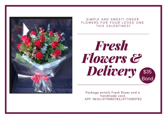 fresh flowers delivery - Valentine's day gift ideas on Wedding Expos Africa