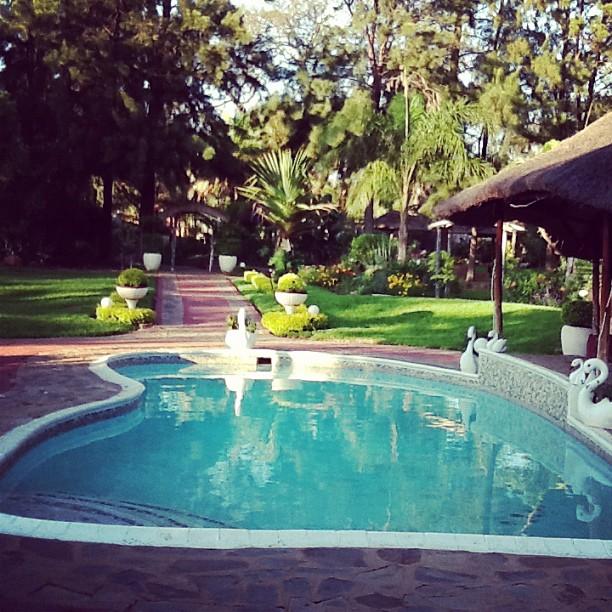 Green Gardens wedding Venue Pool Area
