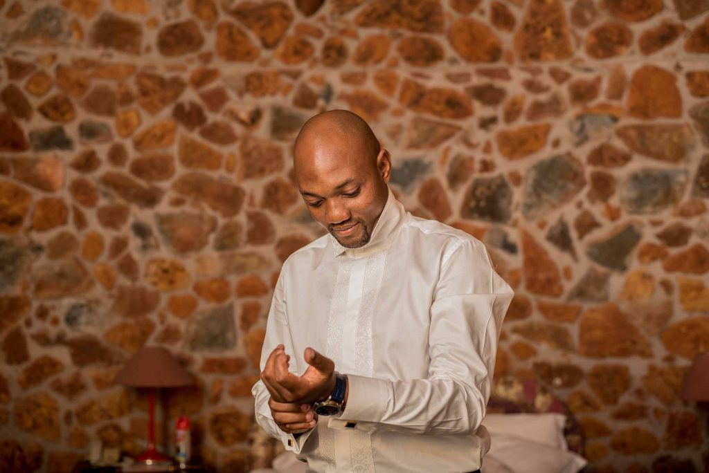 Groom prepares for his big day -kundai mendissa dube and ralph kangai wedding - Real Zimbabwe weddings photos - African Weddings on Wedding Expos Africa - Ernest Mackina Photography
