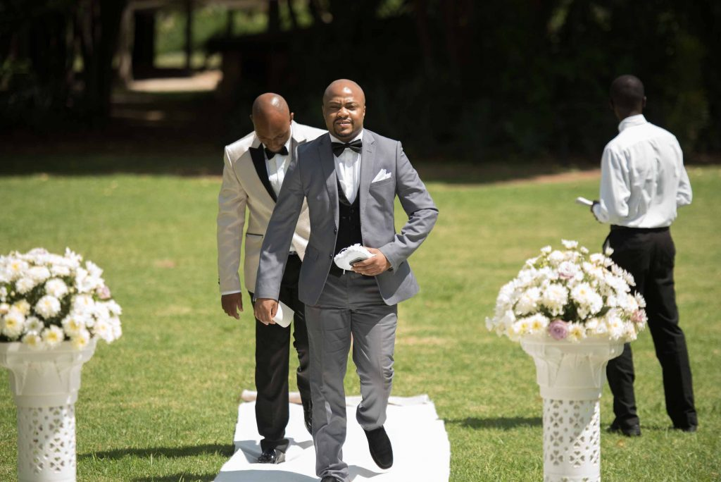 The Grooms entrance - kundai mendissa dube and ralph kangai wedding - Real Zimbabwe weddings photos - Wedding Expos Africa