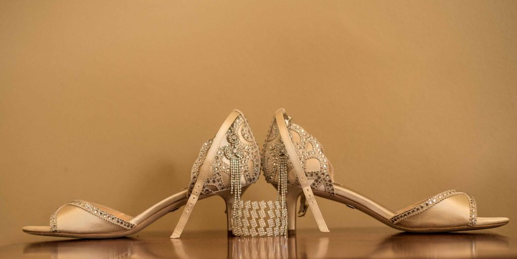 Kundai Mendissa Dube's brides shoes - Real Zimbabwe weddings story - Wedding Expos Africa