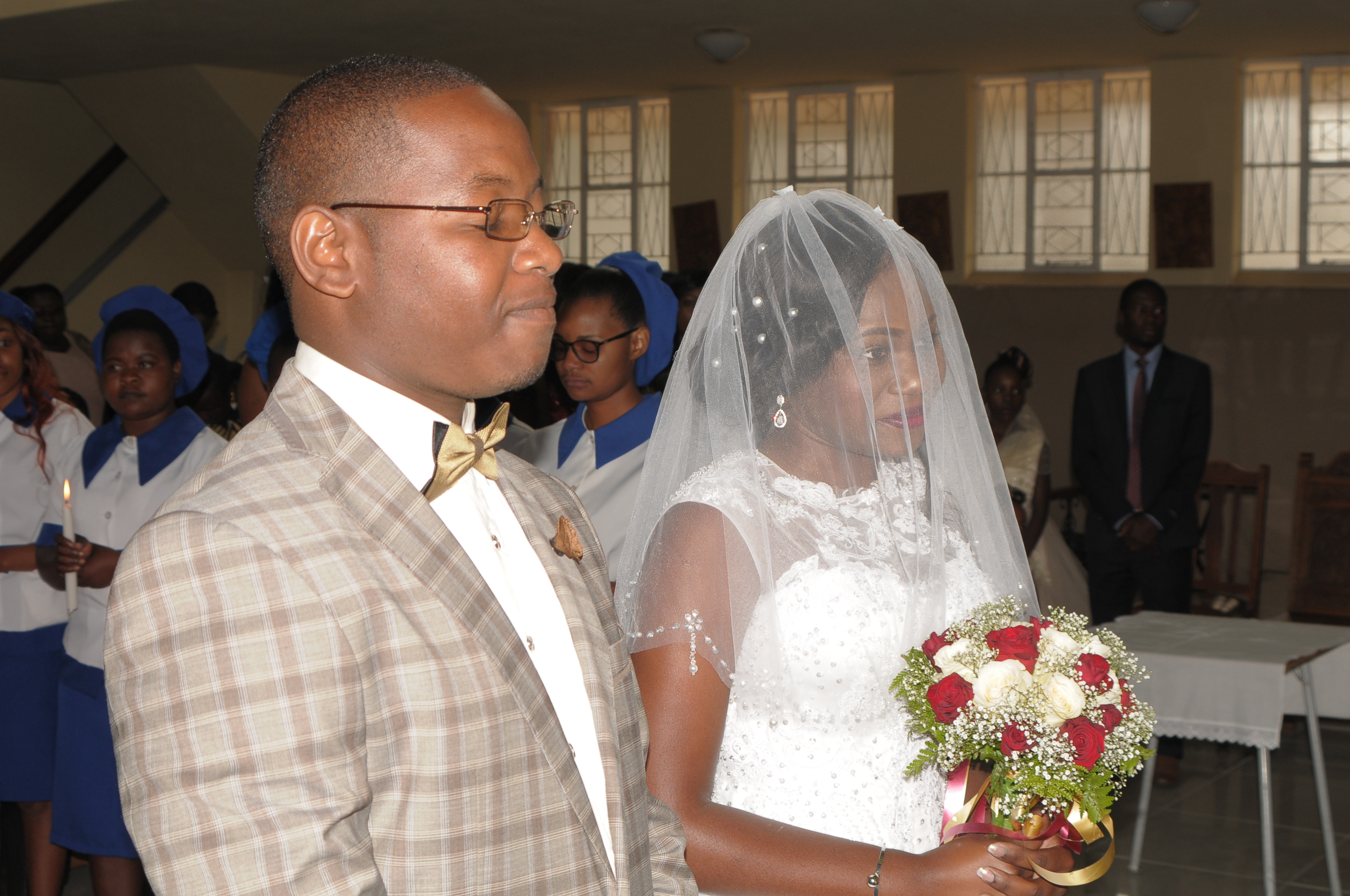 Takudzwa Jacobs and Alphinah Makotose's wedding on wedding expos Africa