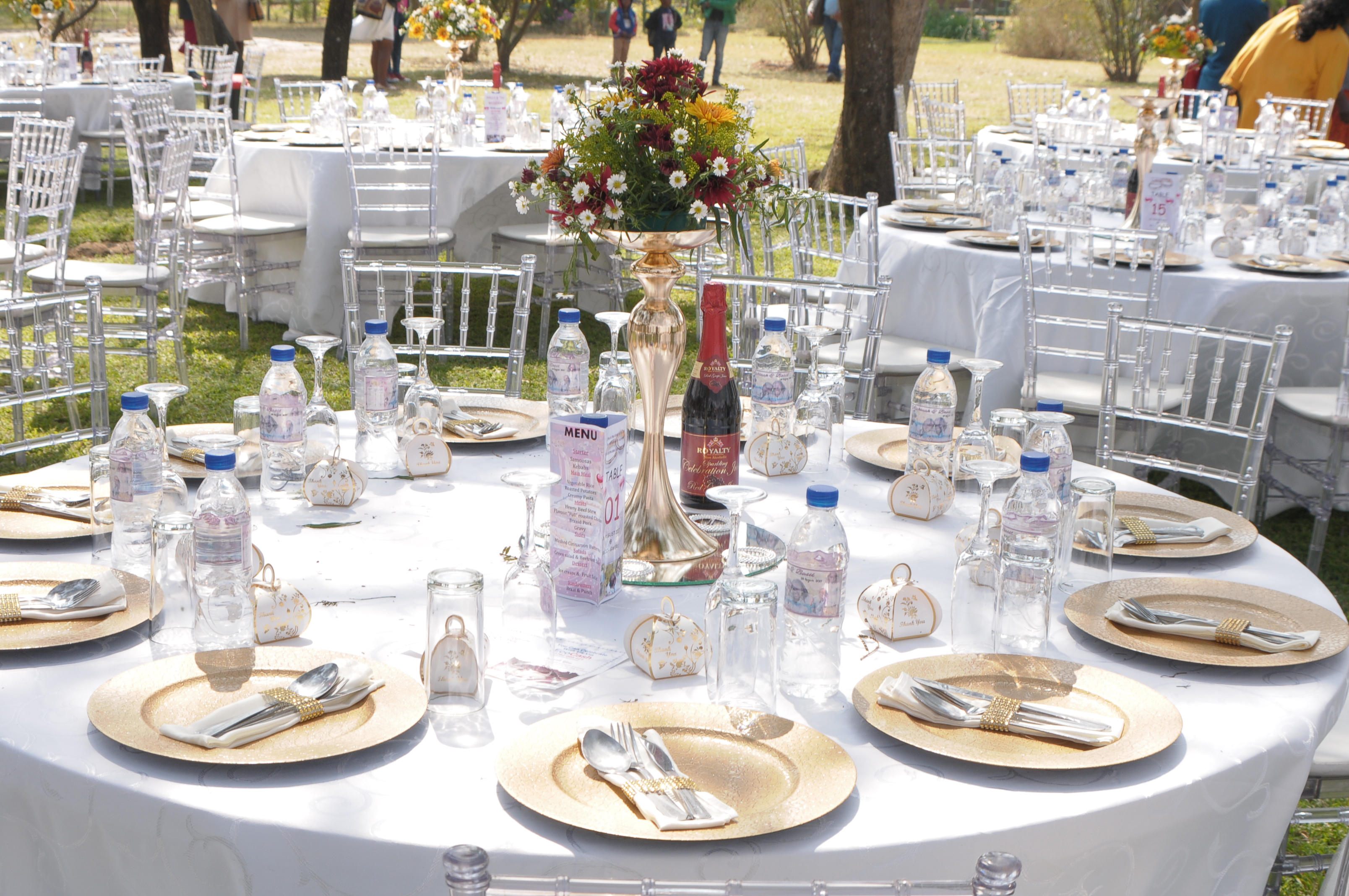 Zimbabwe wedding decor - Alphinah and Takudzwa Jacobs wedding on Wedding Expos Africa