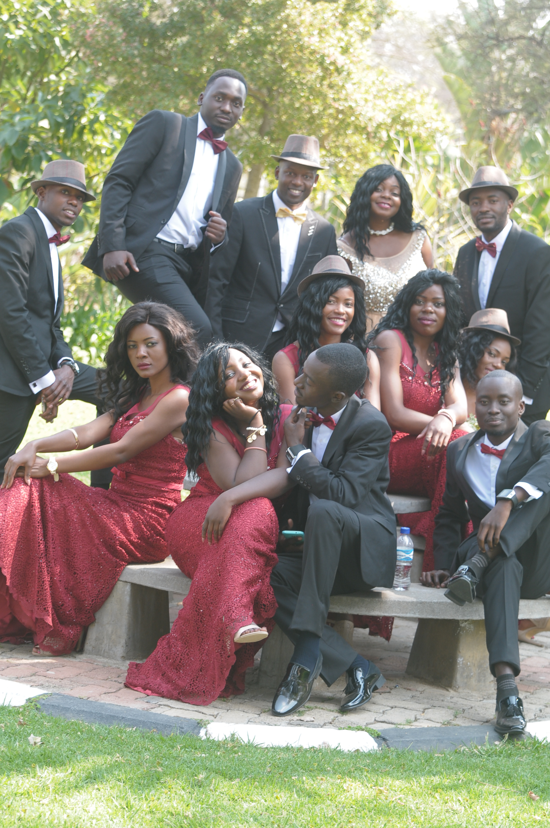 Aphinah Makotose and Takudzwa Jacobs wedding on Wedding Expos Africa
