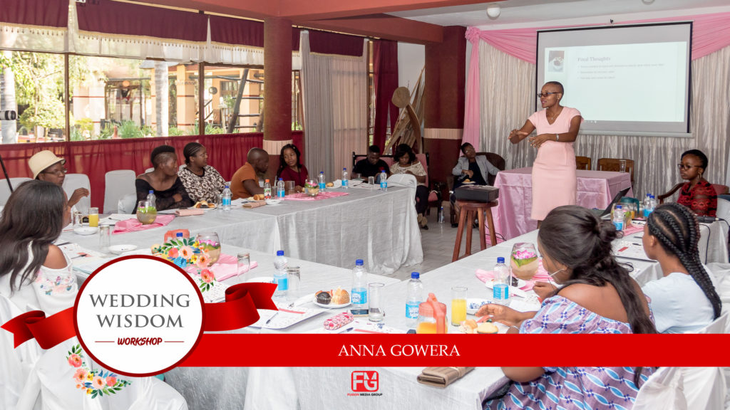 Anna Gowera of Edible Poetry at the Bulawayo wedding wisdom workshop 2019 held at Lalani Hotel - Zimbabwe wedding expos - African wedding expos - Bulawayo Conference Venues - Bulawayo wedding cak