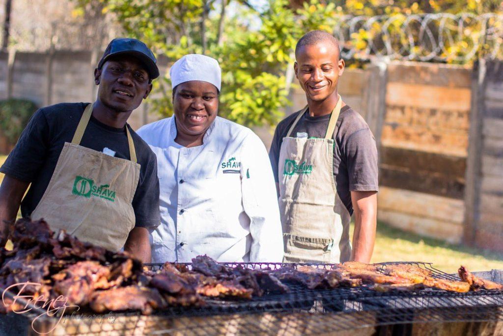 Shava Foods Enterprises - Zimbabwe wedding caterers - Harare wedding catering - Zimbabwe weddings